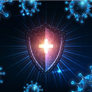 Health and Wellness coronavirus shield